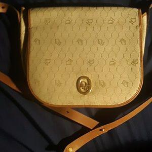 Vintage dior honeycomb monogram bag